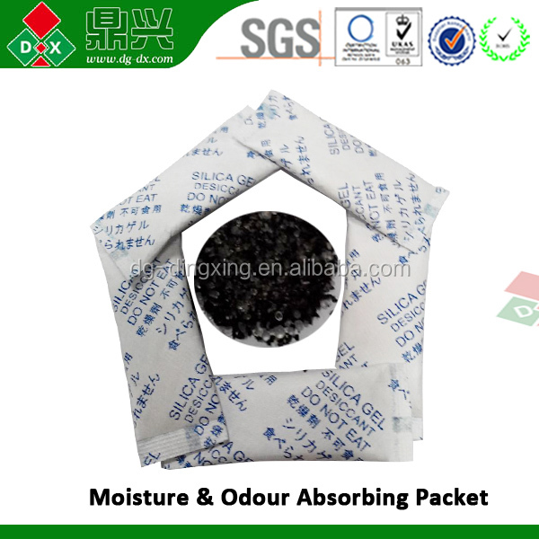 Highly Quality deodorant desiccant packs activated carbon price
