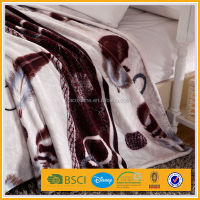 4 pcs flannel bedding set