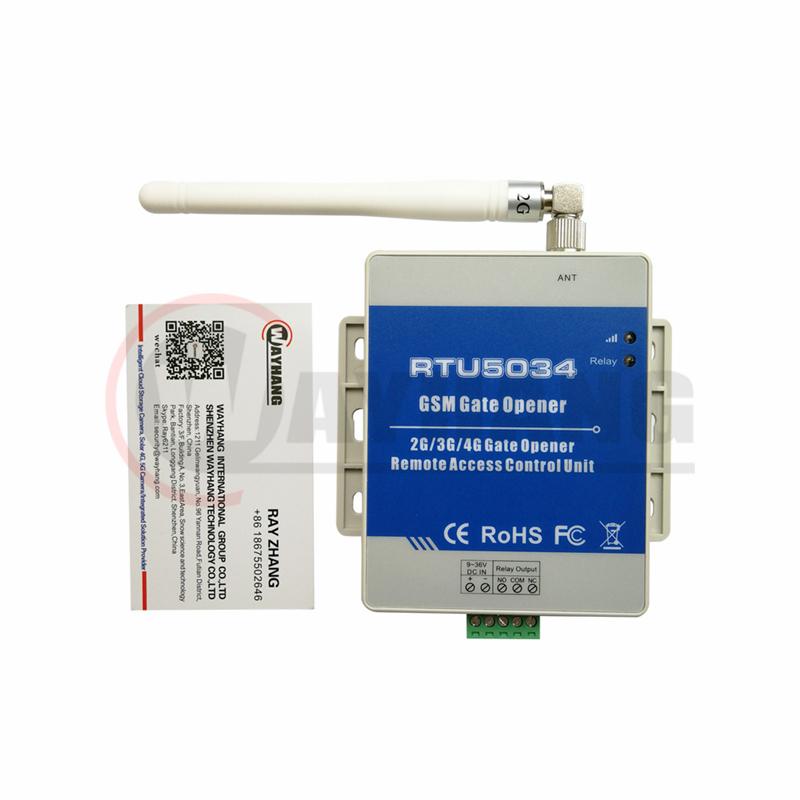 RTU5024 Upgrade Product Newest GSM SMS Gate opener SMS controller RTU5034
