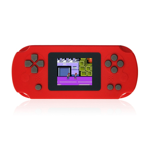 Wholesale A Retro 8-Bit 2.4 Inch Color LCD Kids Color Portable Built-in 268 games Mini pocket Handheld Game Consol player
