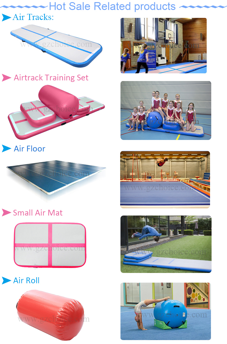 3m 5m 6m 8m 10m 12m Drop Stitch Acrobatics Training Inflatable Air Tumble Track