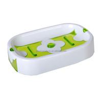 Flower Plastic Soap Dish Soap Dish with Drain