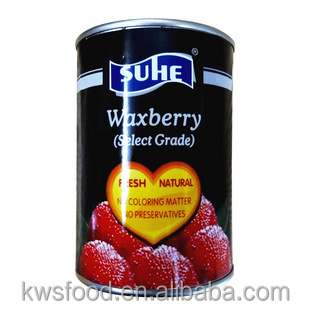 567g canned waxberry in heavy syrup