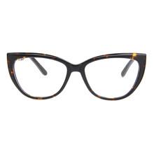 LAO YE HUI унисекс кошачий глаз очки прозрачные, оправа Женская металлическая оправа Ретро прозрачные очки оптические оправы LAO-6802(Китай)