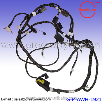 13an683g163, american auto, cable strap, on raw material wire harness