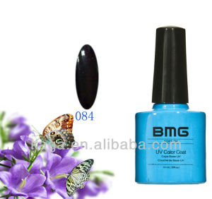 BMG Black Pool color china gel nail polish