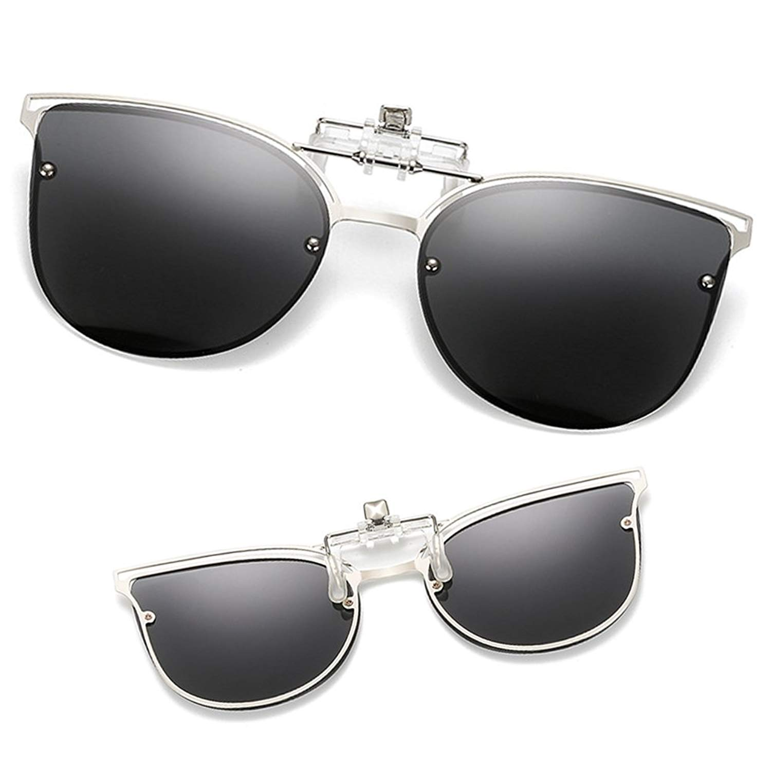 0b2037e153 Get Quotations · Clip-on Sunglasses For Women New Design Polarized Fashion  Sunglasses - 1 Piece
