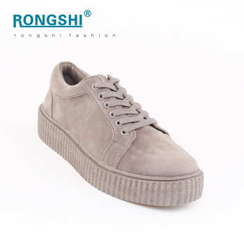 44576b616 Best Price Thick Sole Creeper Shoes Women Campus Shoes For Girls ...