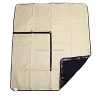 Good quality new coming waterproof treatment hammock style pad car seat cover for pet dog