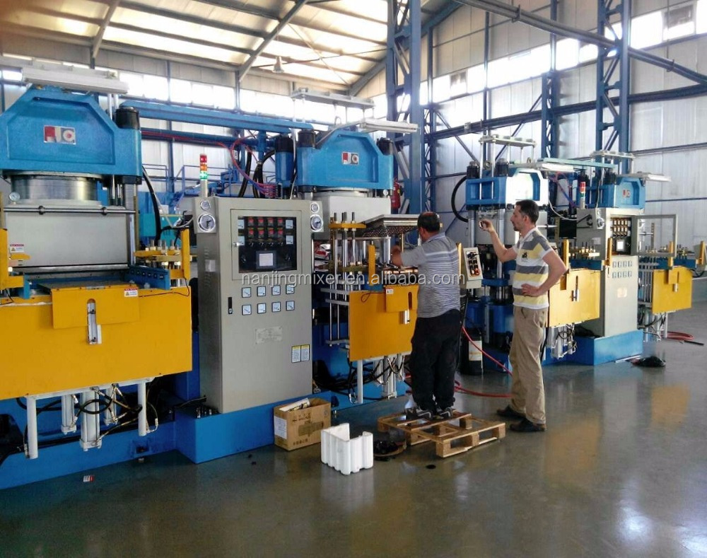 Rubber Vacuum Compression Molding Press/Rubber Compression Molding Machine