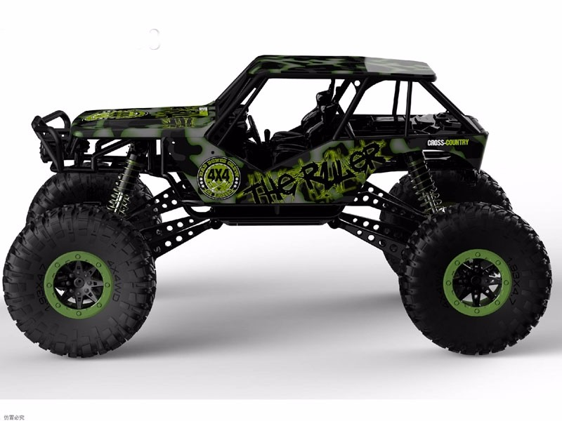 1 10 Scale 2 4g 4wd Electric Car Buggy Rc Rock Crawler For Sale