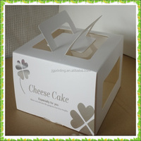 Cheap paper cardboard cake boxes for gift