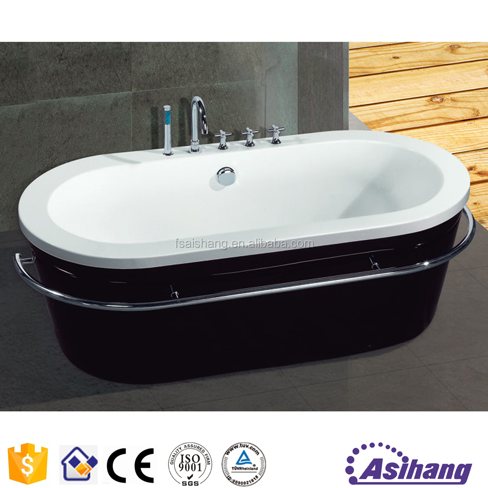 Black Acrylic Bathtub, Black Acrylic Bathtub Suppliers And Manufacturers At  Alibaba.com