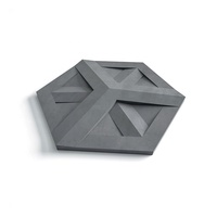 Fashion feature concrete wall 3d tile