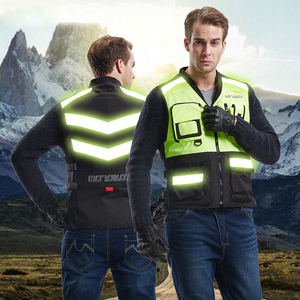 protective biking clothing hi vis yellow road safety reflective vest