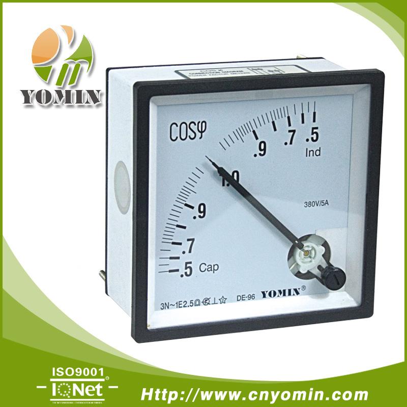Manufacturer Dt-pf96 Good Quality Power Factor Meter,Analog Panel ...