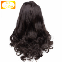 Wholesale Raw Indian Remy Human Hair Full Lace Wig Natural Wave 150 Density Indian Women Hair Wig