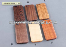 Best popular wooden bamboo mobile case for iphones 2014
