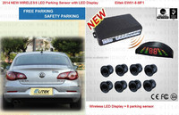 "2014 new ultrasonic wireless parking sensor for ""ARMSTRONG SIDDELEY"", with LED Display ,8 sensor"