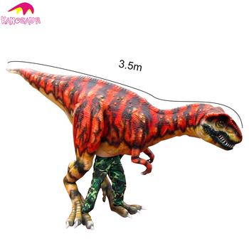 kano 163 jurassic theme show real dinosaur mascot costume buy real