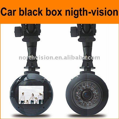 black box camera/night-vision car black box/video camera for car