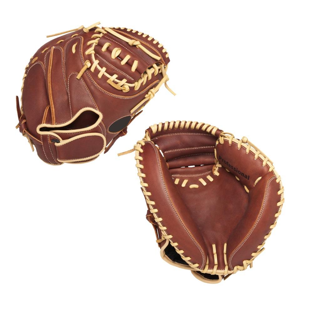 High Quality Genuine Steerhide Leather Catcher Baseball Gloves