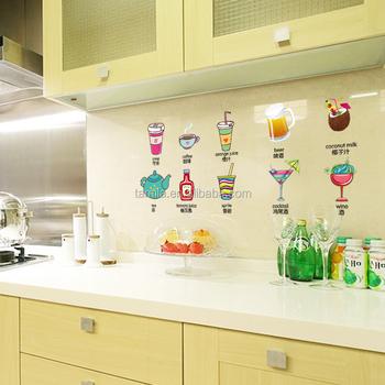 2016 Neue Design Küche Dekorative Nette Nahrungsmittelaufkleber Buy Küche Fliesen Dekoration Aufkleberküchenschrank Aufkleberküche Fliesen
