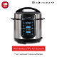 Chinese factory kitchen appliance high quality 5l6l non-stick coating computer oven timer electric Pressure cooker in wholesale