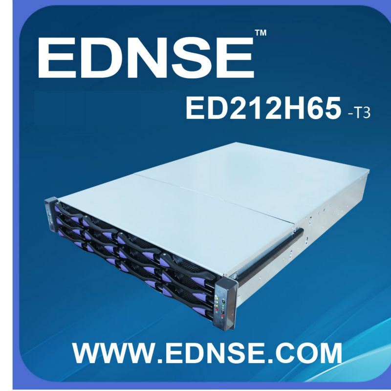 2014 ED212H65-T3 2U 12 hdd bays SERVER CHASSIS with length extendable data case