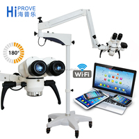 XTY-180 0-180degree Binocular LED Surgical ENT DENTAL Operation Microscope