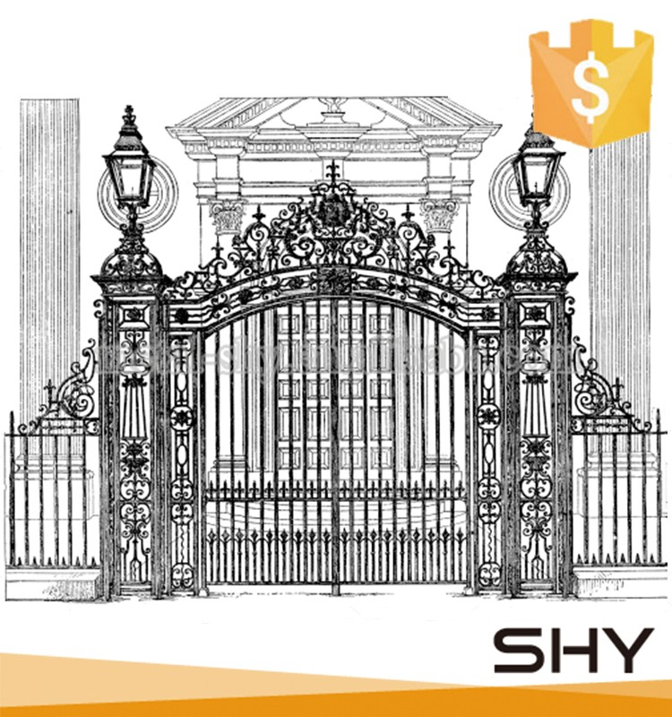 ornate wrought iron gate single swing double open decorative wrought iron gates double open decorative wrought iron gates buy