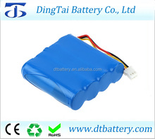 house cleaning robot battery 18650 12.8v 1500mah li-ion battery for Moneual Rydis R750
