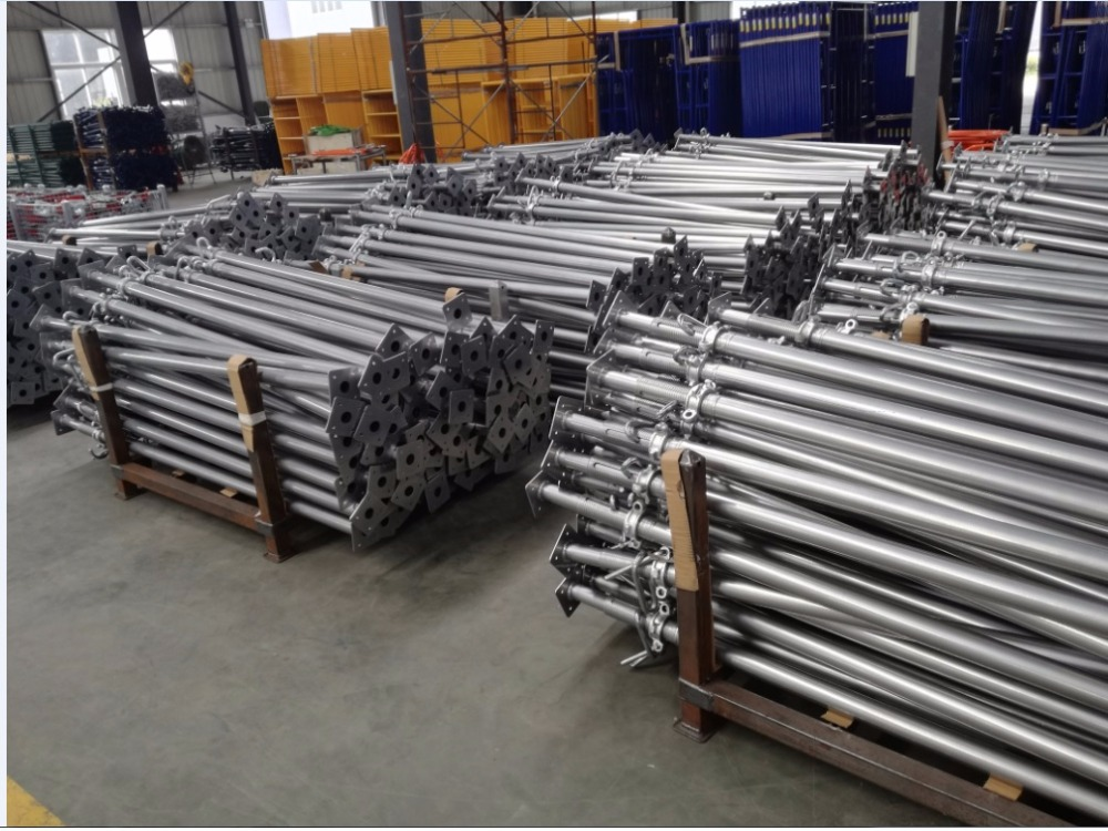 adjust steel prop scaffold ,shoring prop scaffolding,scaffolding parts name