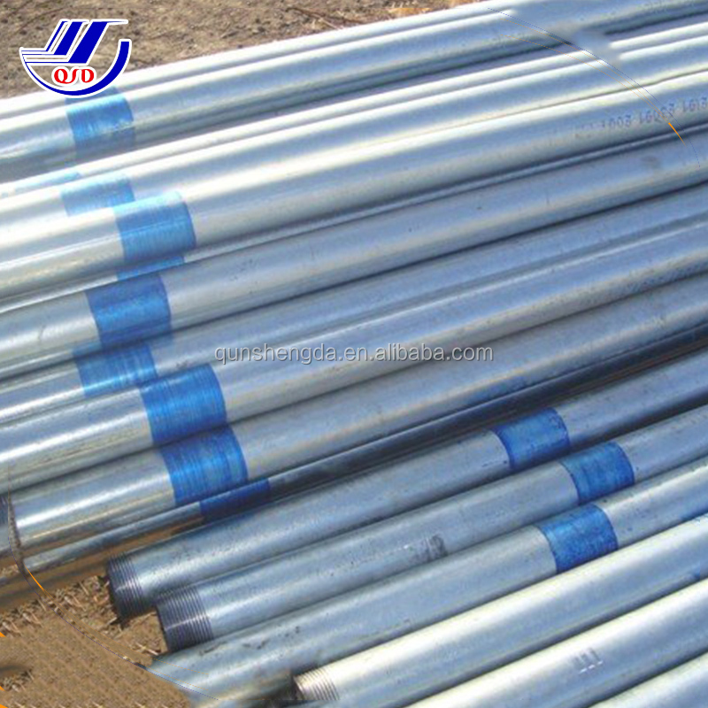 20/25/32/40/50 Metric screwed Galvanized electrical conduit pipe for electric wiring installation