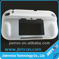 Soft TPU Clear Back Case Cover Skin for Nintendo Wii U Gamepad Controller