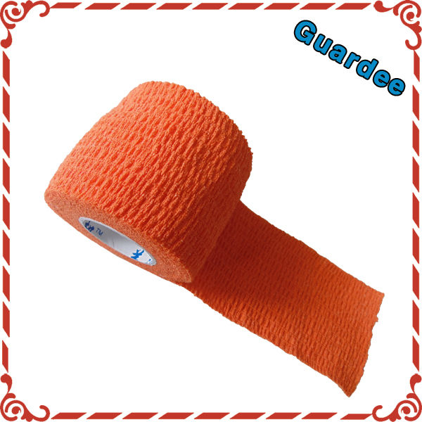 red Color Cohesive Bandage Wrap Equine Birds