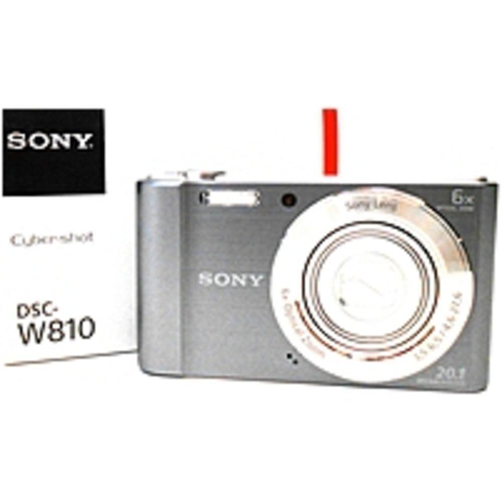 Sony Cybershot DSC-W810/S 20.1 Megapixel Digital Camera - 6x Optical/12x Digital Zoom - 2.7-inch LCD Display - Silver