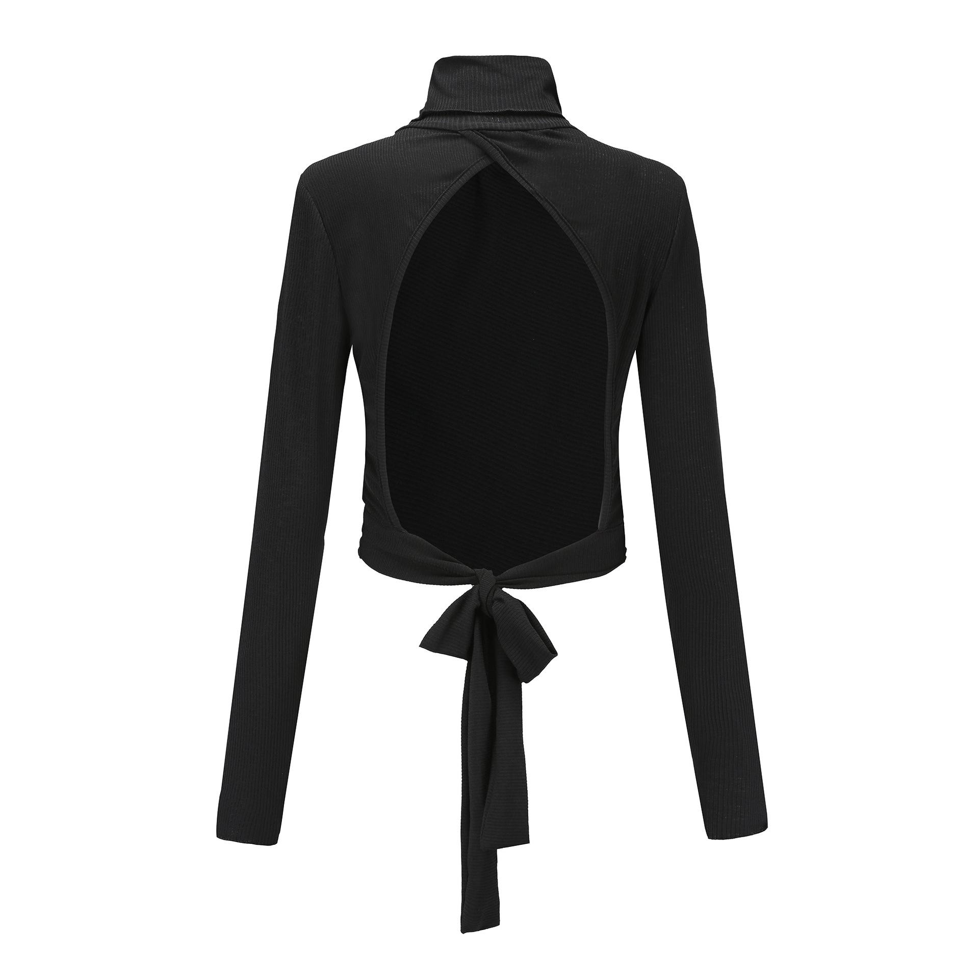 aa4ca879dad41c Finden Sie Hohe Qualität Sexy Schwarzen Bluse Rückenfrei Hersteller und Sexy  Schwarzen Bluse Rückenfrei auf Alibaba.com