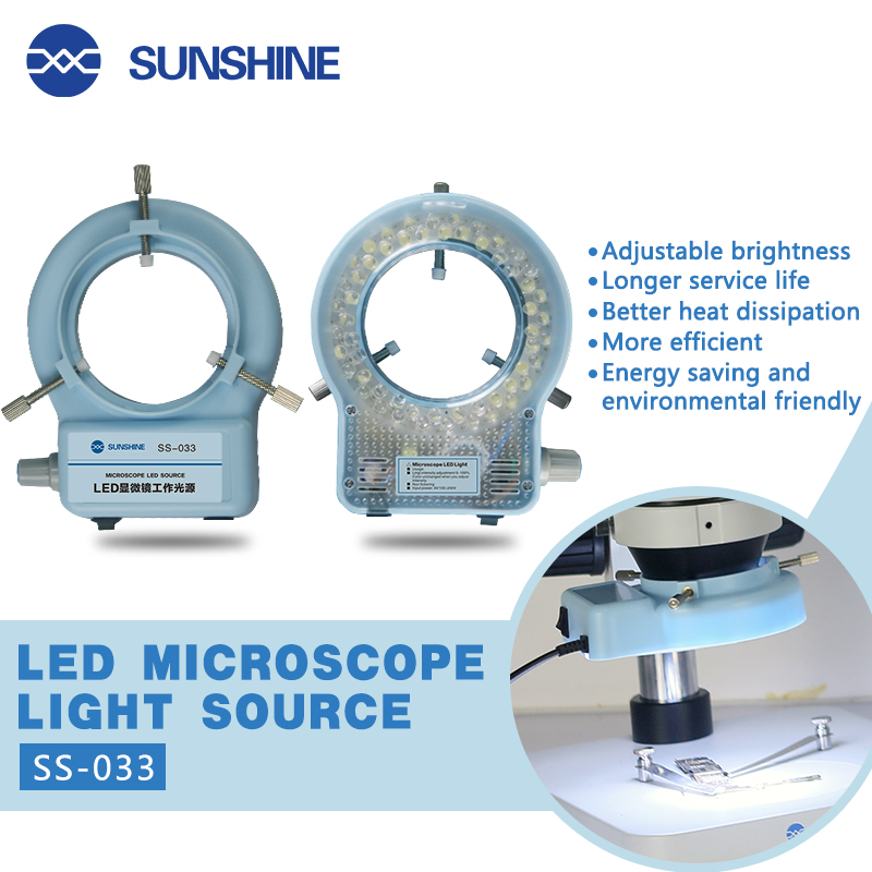 SUNSHINE SS-033 56LED lampe dedicated to stereo microscope lighting