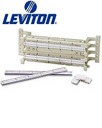 Leviton 41AB2-1F5 GigaMax 5e 110-Style Wall Mount Wiring Block C5s w/ Legs (Pkg of 5)