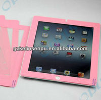 colored printing screen protectors for i PAD 2/3/4, colored printing screen guard
