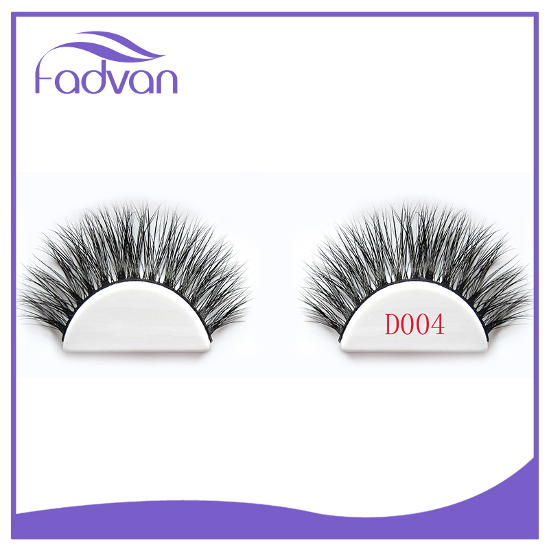 Eyelash Factory Price Top Quality Private Label 3D Strip Eyelash Mink Hair Lash