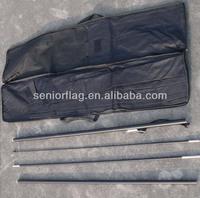 Beach flag pole sets, beach flagpole