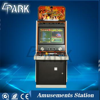 Realistis Street Fighter 22 Inch Hd Display Kabinet Arcade Game
