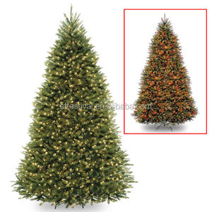 huge selection of f30df 73c33 wholesale electric Hinged 9ft LED Light Christmas Tree with 900 Low Voltage  Lighted 9-function Footswitch