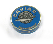 Factory wholesale best price caviar tin box food packaging