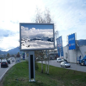 P10 outdoor led wall display full color advertising screens video displays