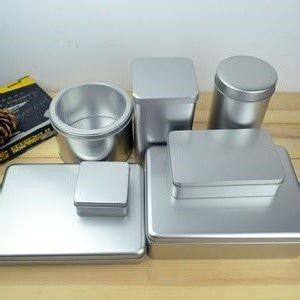 Eco-friendly Tinplate Metal Food Packing Box Cookie Tin Box