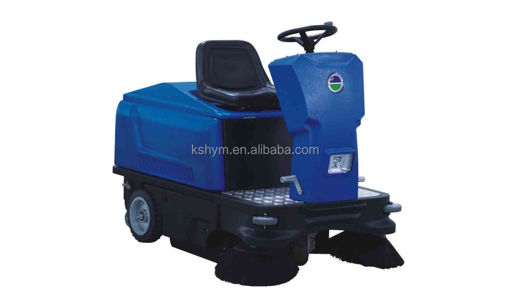 Industrial cordless floor sweeper