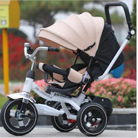 Child tricycle baby car infant stroller adjust seat can lie sleep 2017 high quality child bike for 3 month-6 years pram Strolle